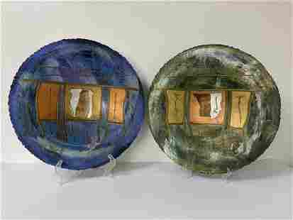 2 Doug Maxwell Paperlight Bowls