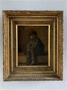 18th Century Portrait of a Boy -Lyman Wallace Blanchard