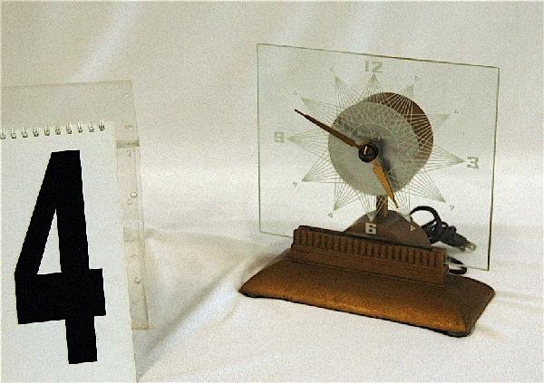 4: MYSTERY MANTLE CLOCK 1950