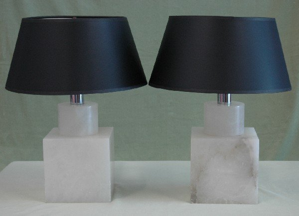 20: PAIR OF TABLE LAMPS