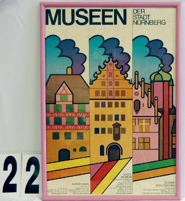 22: GERMAN ART MUSEUM POSTER