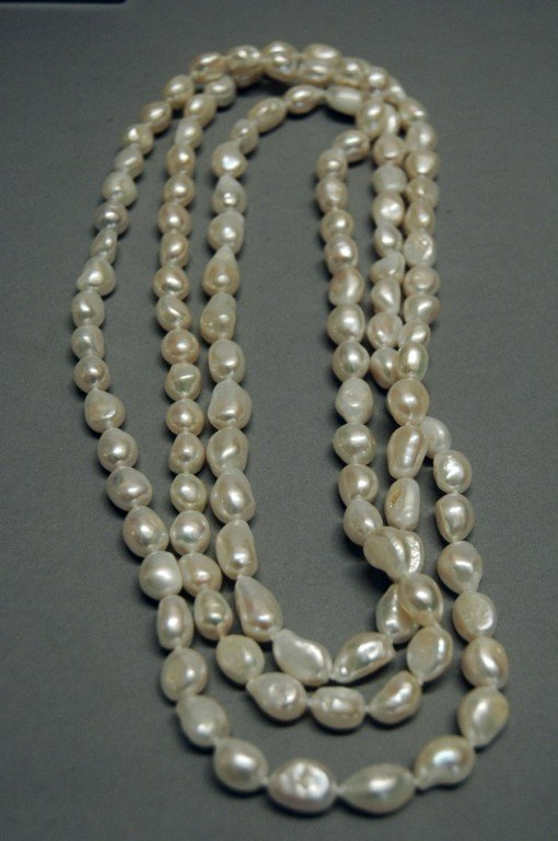 "3: 60"" STRAND OF PEARLS"