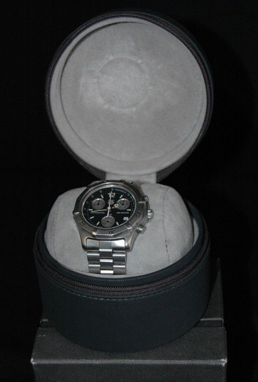 11: TAG HEUER MAN'S WATCH