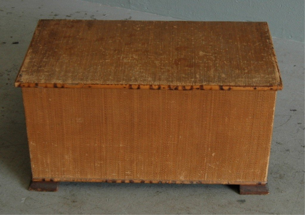 16A: BRIGHTON BAMBOO DOLL TRUNK