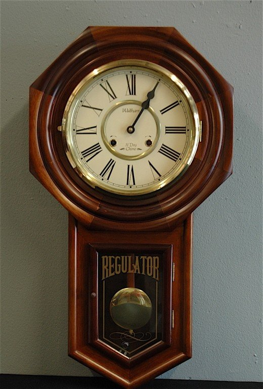 Waltham 31 day chime wall clock 282 waltham 31 day chime wall clock amipublicfo Image collections