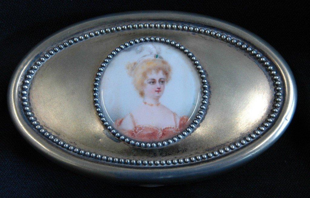 1: Sterling Dresser Box with Portrait