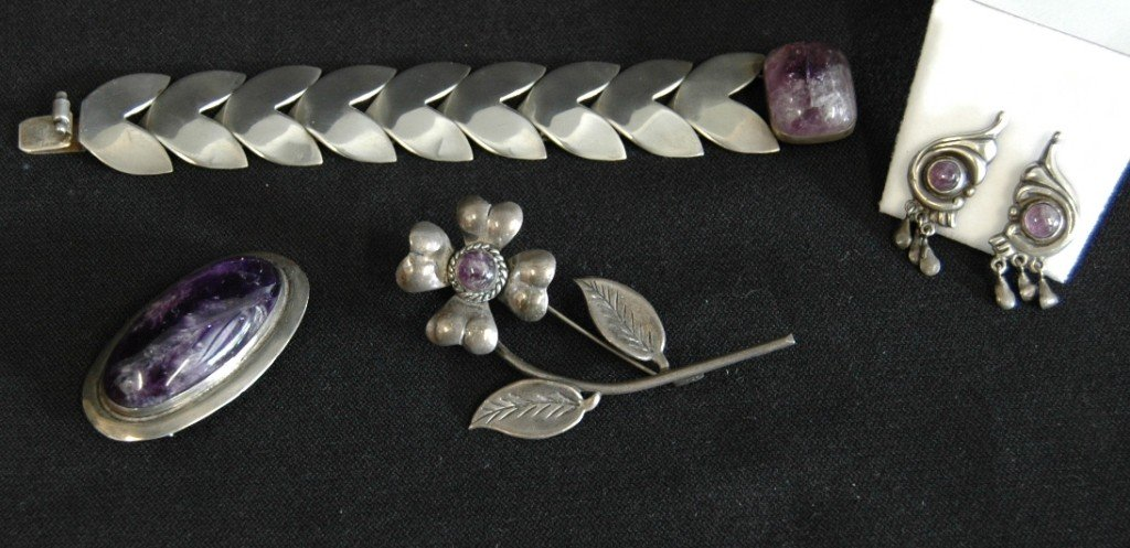 4: Mexican Sterling Jewelry Group