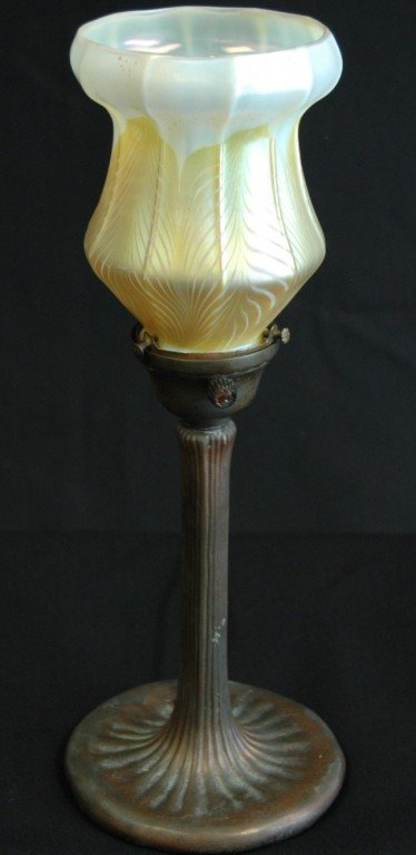 7: Handel Lamp with Quezel Shade