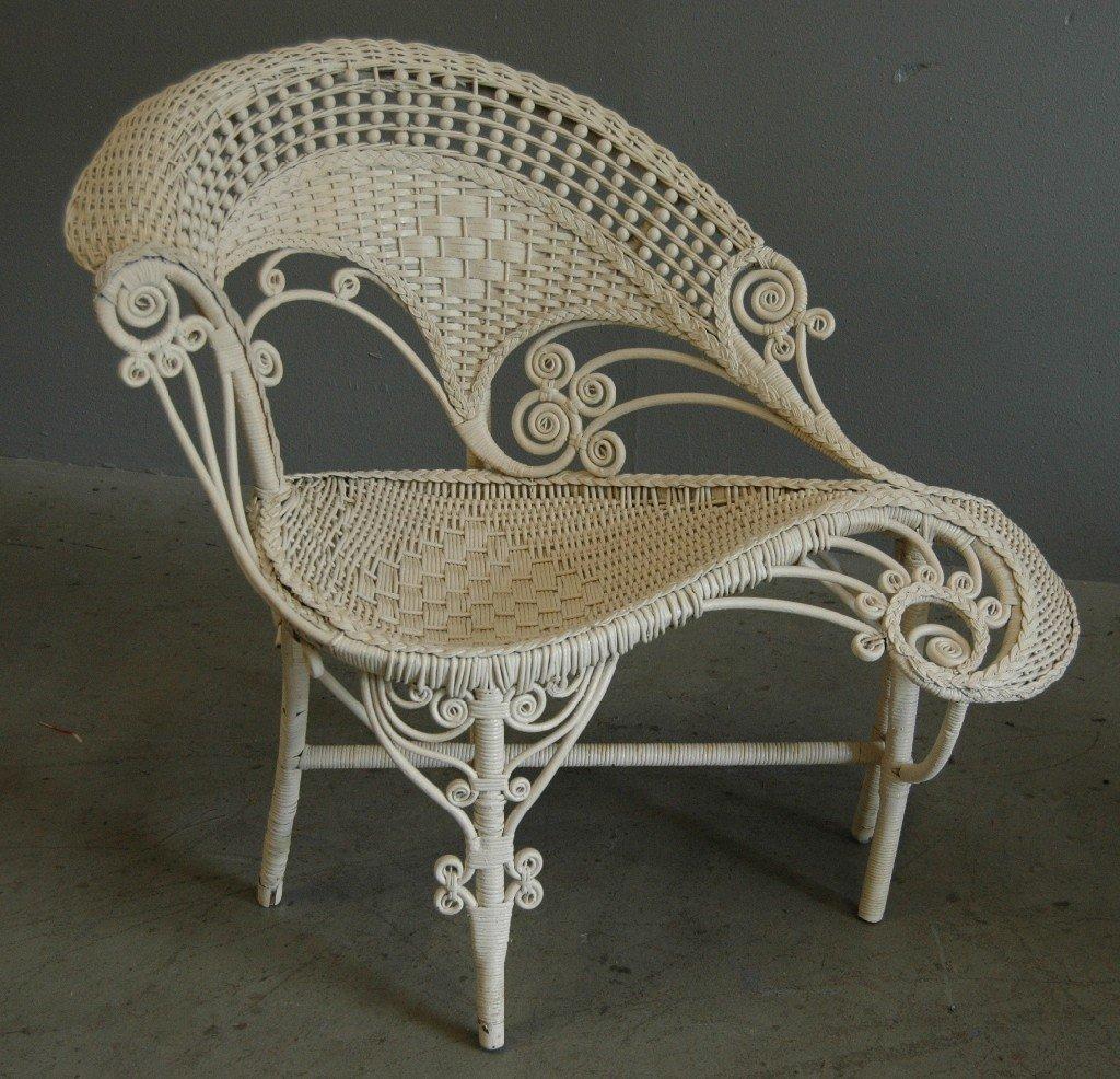9: Wicker Photographer's Chair