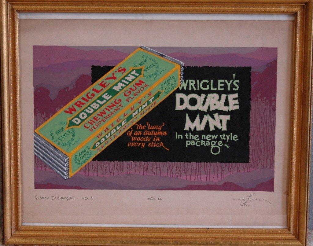 14: L. R. Slanker, Wrigley's Gum Advertising