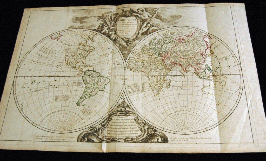 16: 1752 Map, Orbis Vetus, Robert De Vaugondy