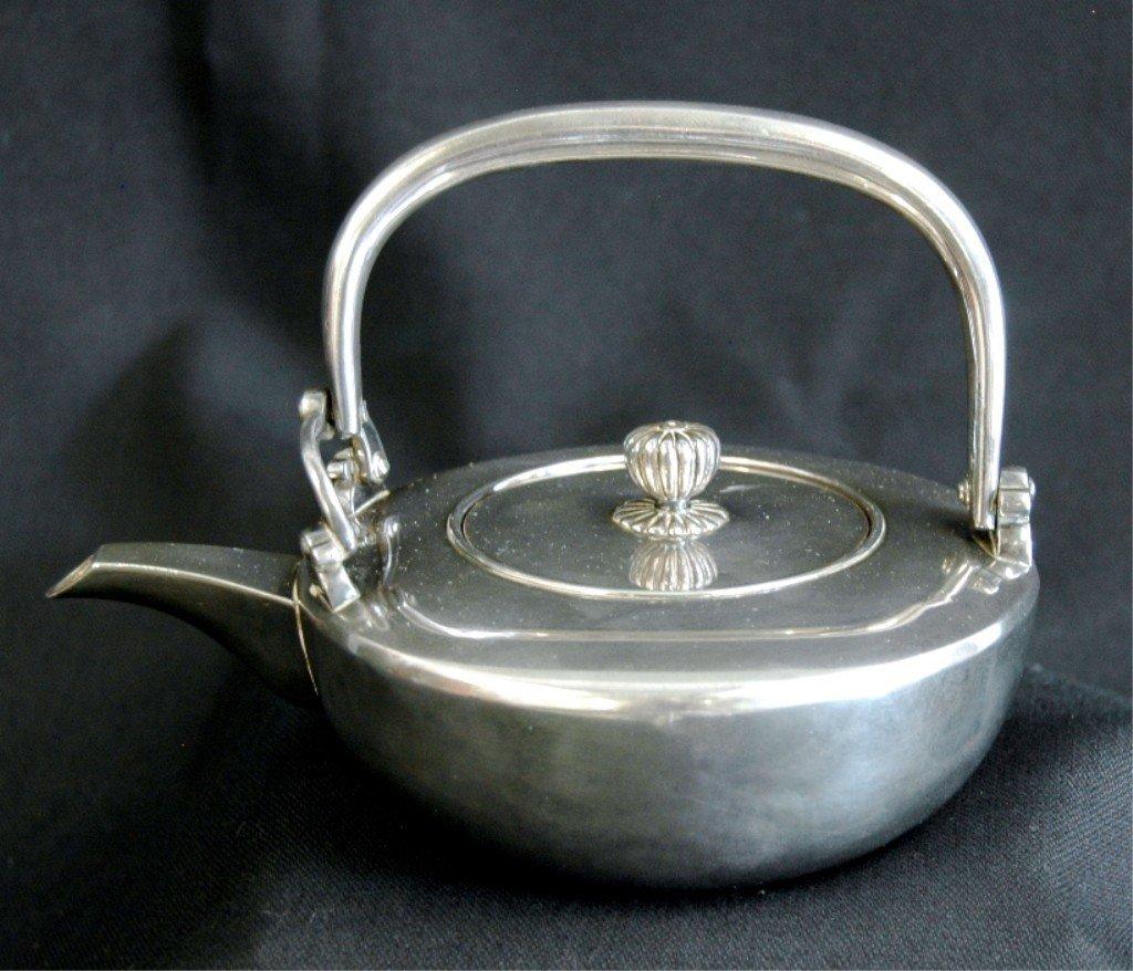 19: Japanese Sterling Tea Pot