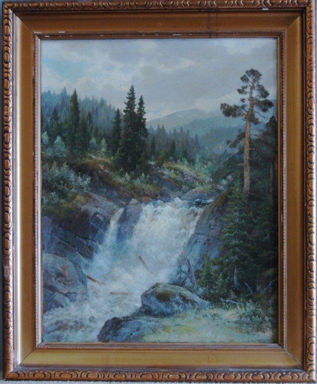 116: Olaf Nordlien Oil on Canvas