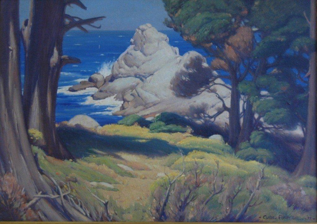 """138: Clyde Forsythe, """"On Point Lobos"""""""