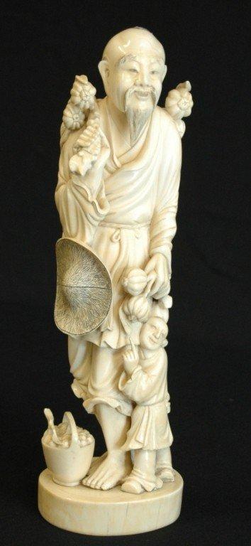 152: Chinese Okimodo Ivory Man
