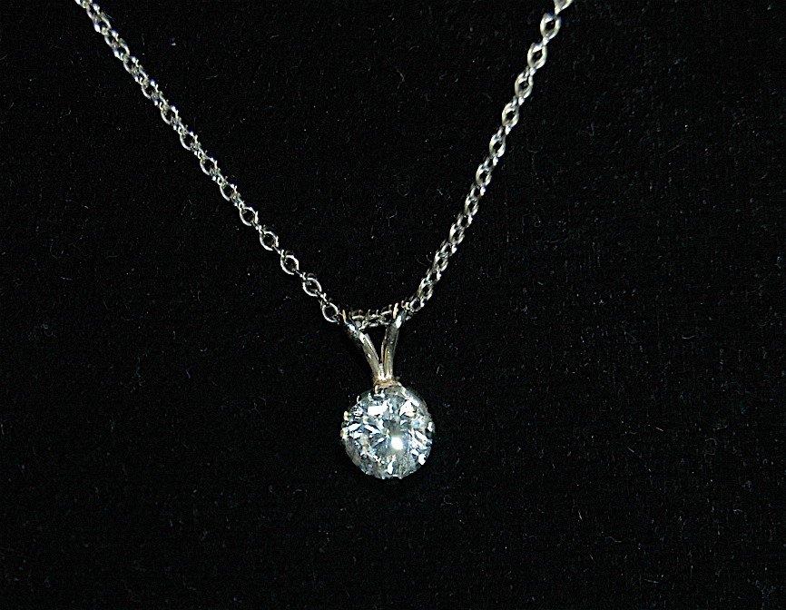 5: Diamond Pendant Necklace