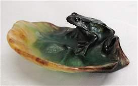 8: Daum, Nancy Art Glass Frog