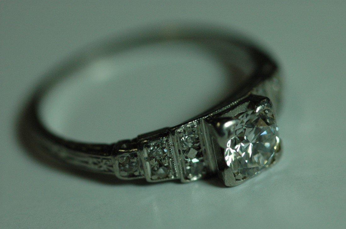 9: Edwardian Diamond & Platinum Ring