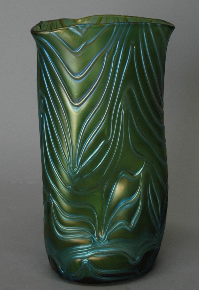"11: Loetz ""Formosa"" Tri-Corner Vase"
