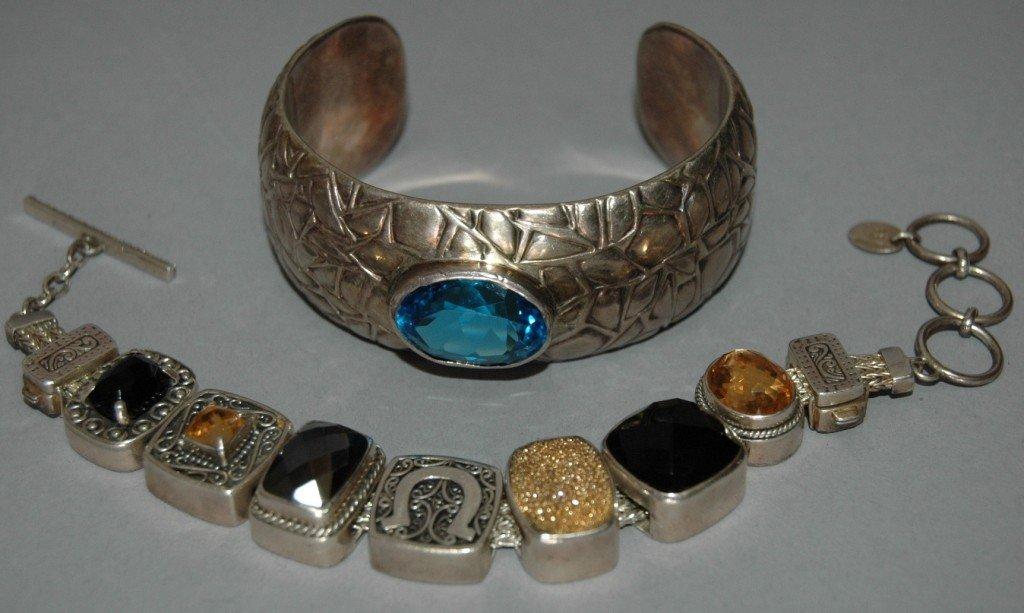 4: 2 Designer Bracelets