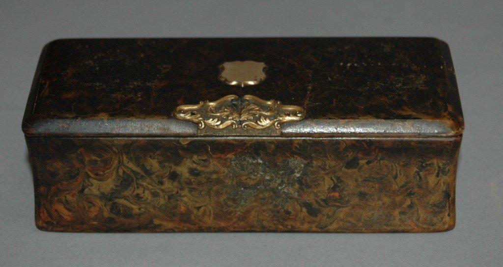 12: Papier Mache' Box