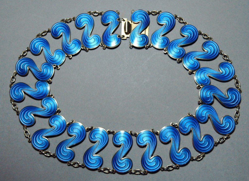 16: Norwegian Enameled Necklace