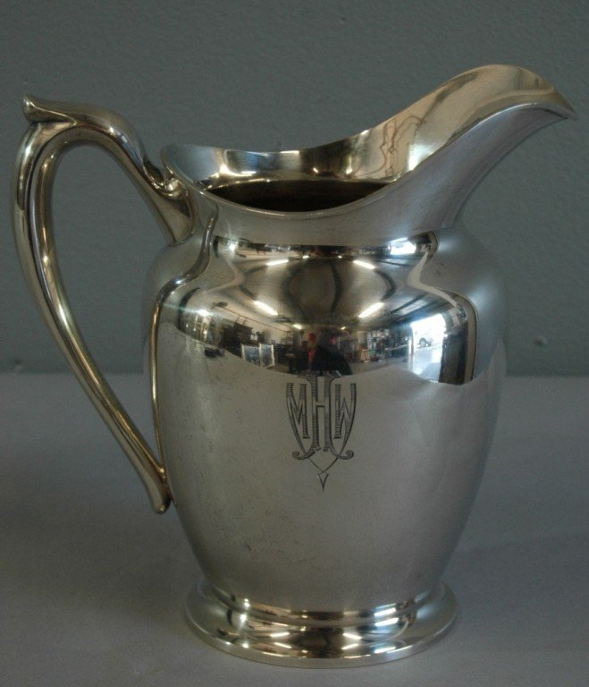 23: Hirsch & Oppenhimer Sterling Pitcher
