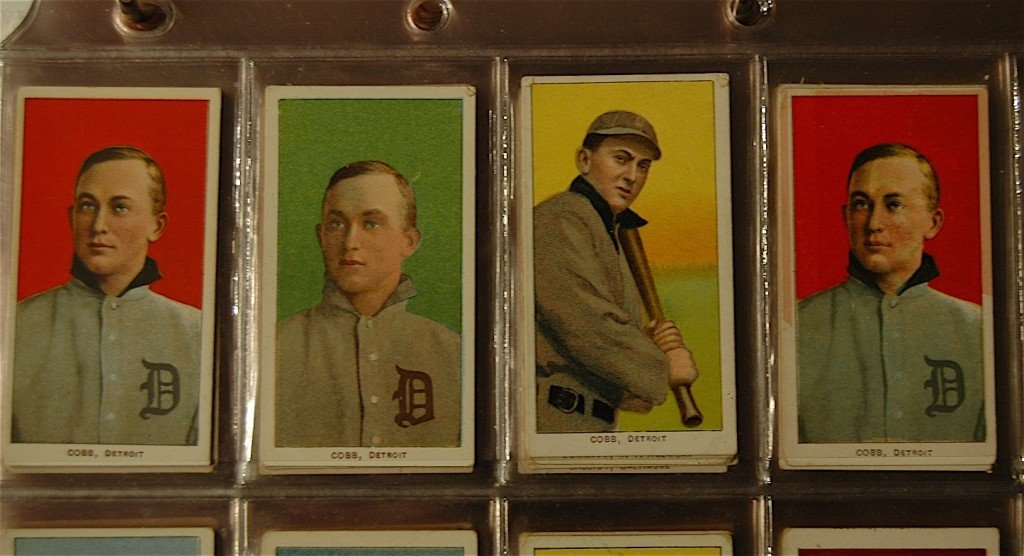 100: Collection of 414 Tobacco Baseball Cards