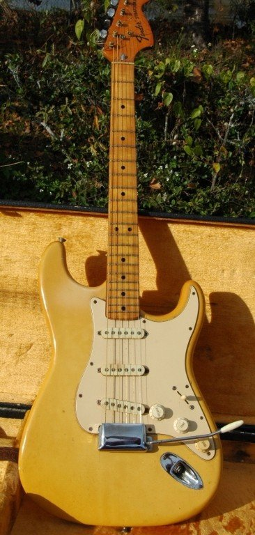 119: Fender Stratocaster Guitar