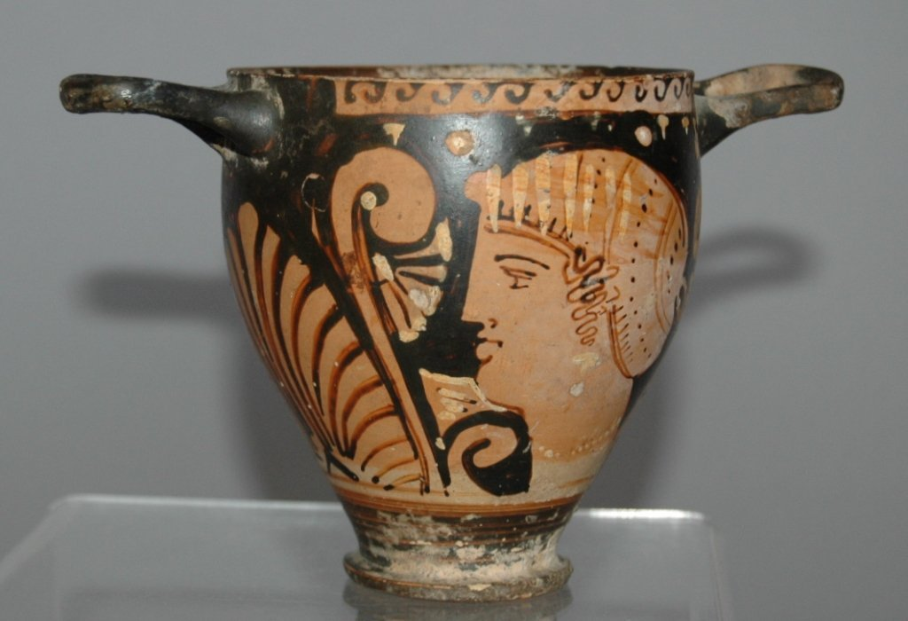 14: Ancient Greek Decorated Cup