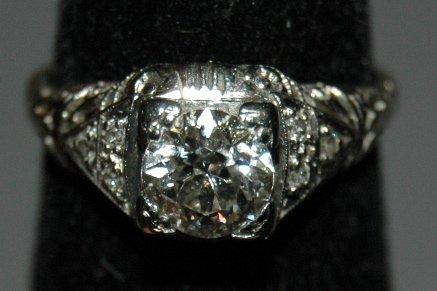 22: Edwardian Diamond Ring