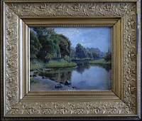 33: August Julius Jersild, Oil on Canvas