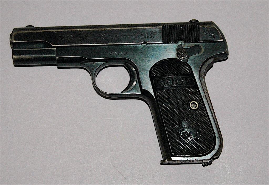 42: Colt .32 Model 1897 Pistol - 2