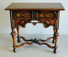 Petite Walnut Jacobean Server
