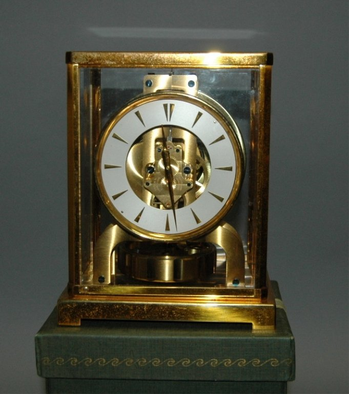 59: Atmos Clock by Jaeger-LeCoultre