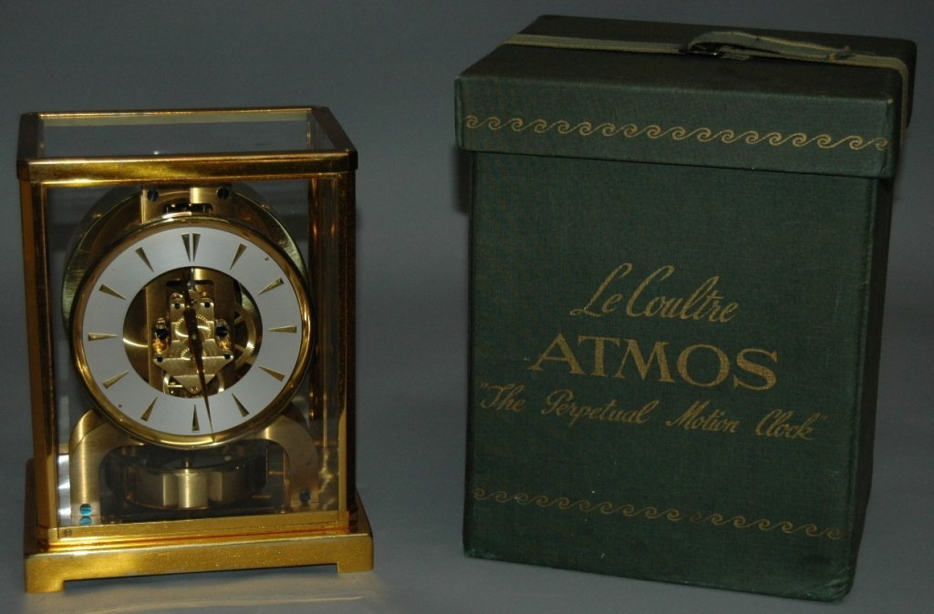 59: Atmos Clock by Jaeger-LeCoultre - 3
