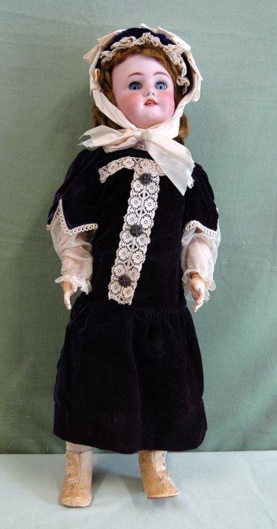 """60: Simon & Halbig 29"""" Doll"""