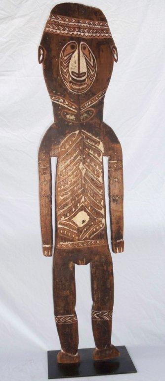 65: New Guinea Male Ancestor Figure