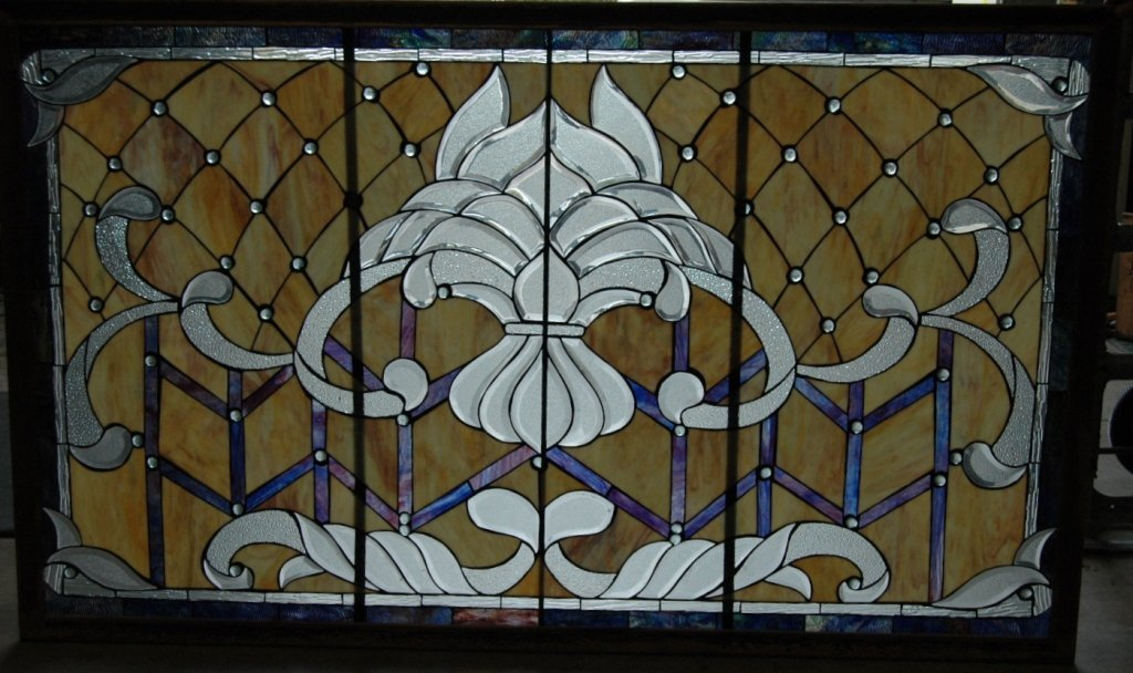 67: Large Stained Glass Window