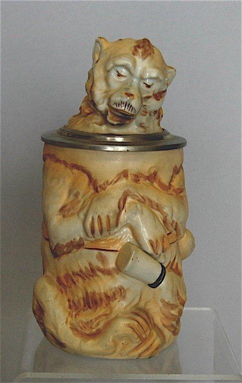 77: Porcelain Monkey Stein