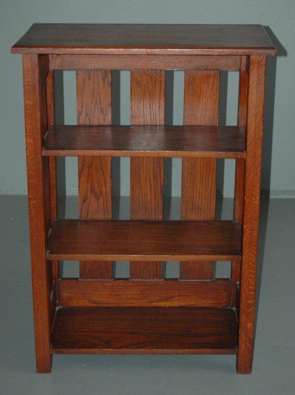 84: Arts and Crafts Bookshelf