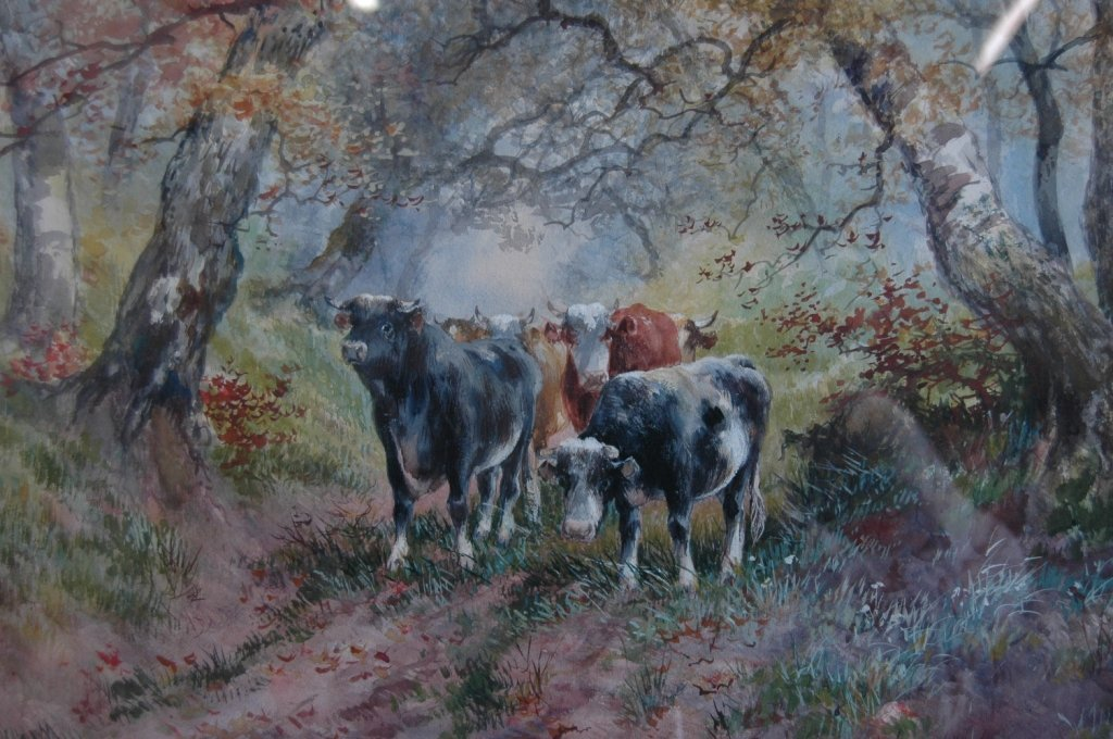 86: Hugo Melville Fisher, Watercolor
