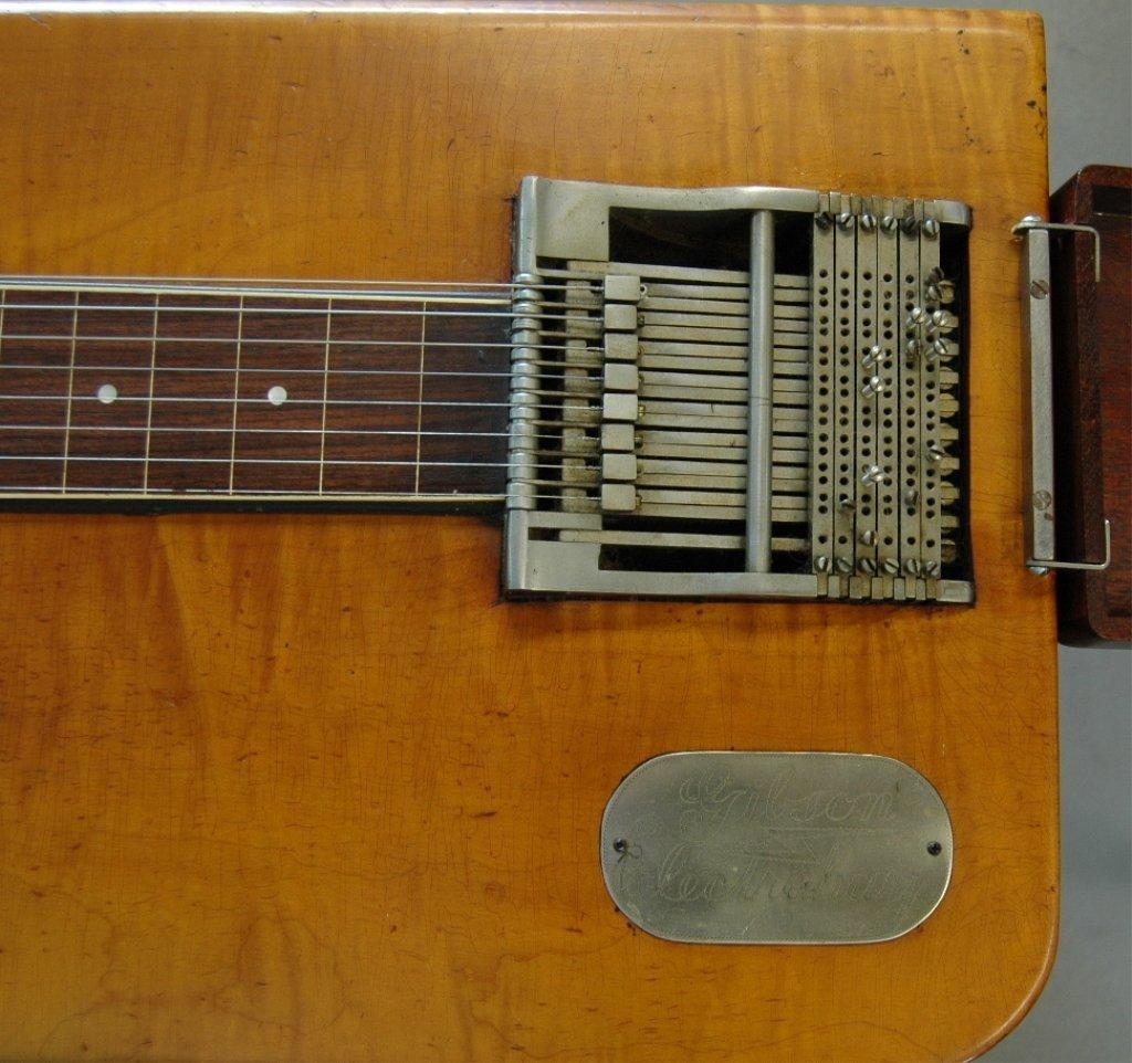 99: Gibson Electraharp Steel Lap Guitar - 4