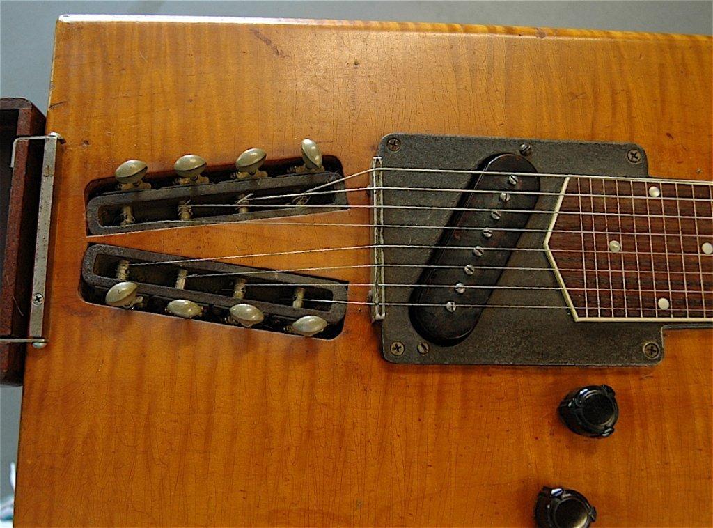 99: Gibson Electraharp Steel Lap Guitar - 6