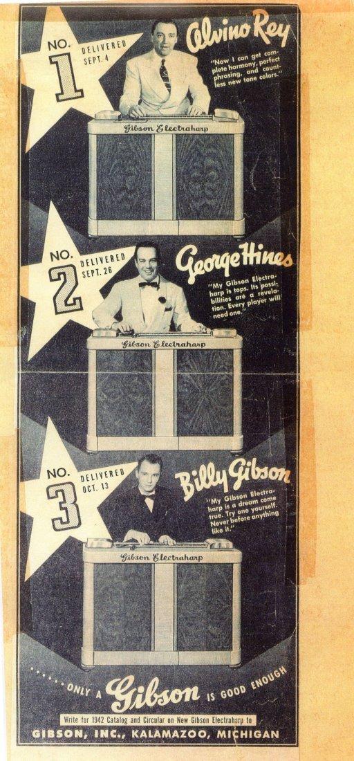 99: Gibson Electraharp Steel Lap Guitar - 8