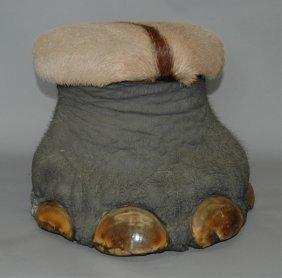 Elephant Foot Footrest