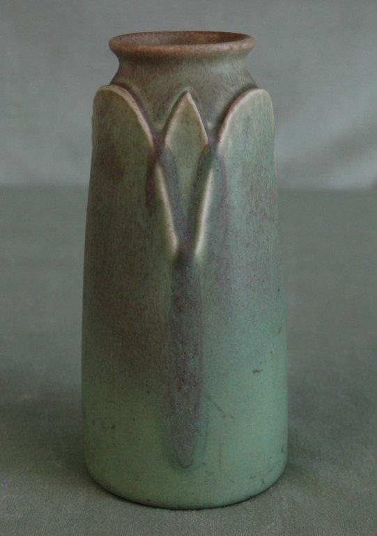 125: Rookwood 1911 Green Vase