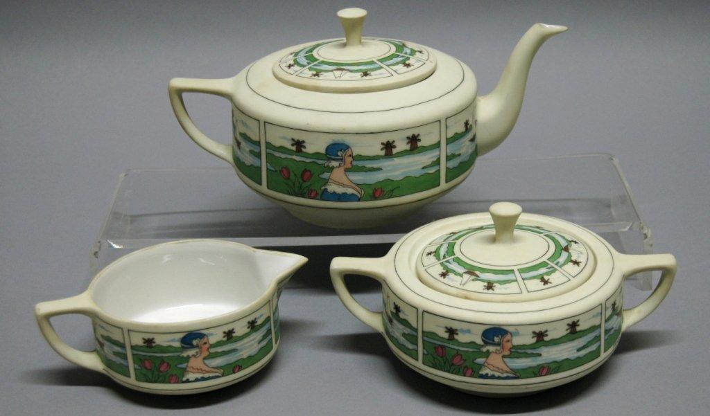 138: Pickard Hand Painted China- Tea Set