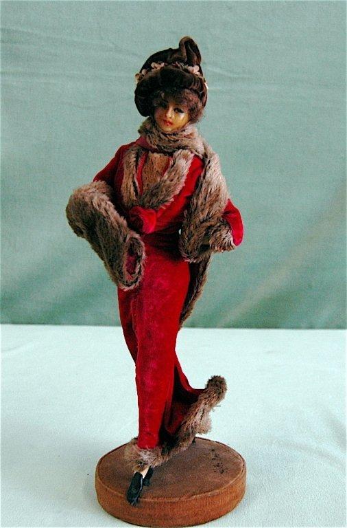 140: Lafitte & Desirat Fashion Wax Doll