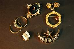 282 Group of Victorian Jewelry